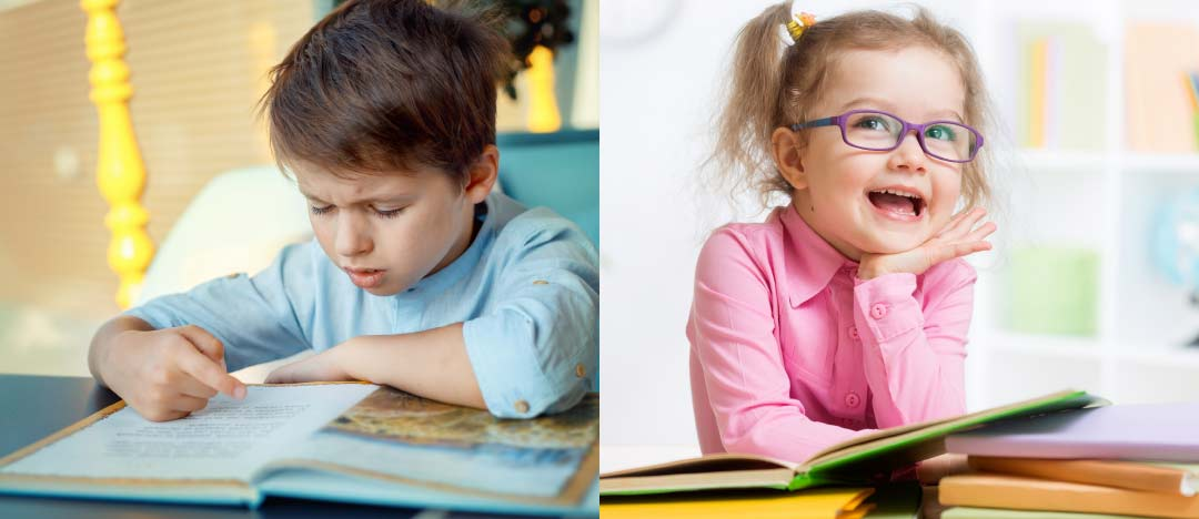 Vision Therapy lets Children be happy at school.